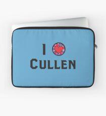 I Heart Cullen Laptop Sleeve