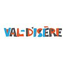 Val-d'Isere Hand Drawn Text T-Shirt by designkitsch