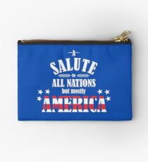 A Salute to All Nations (But Mostly America) Studio Pouch