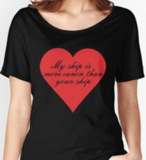 My Ship is More Canon Women's Relaxed Fit T-Shirt