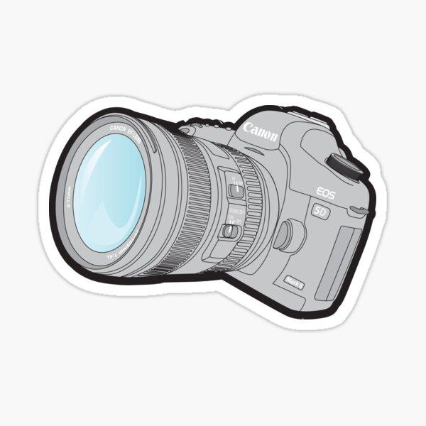 Canon 5DmkII Camera Sticker