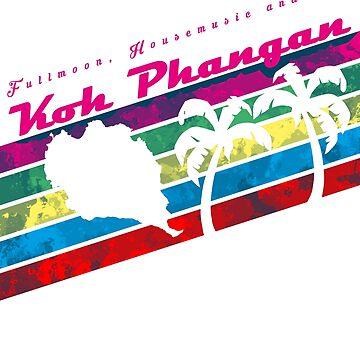 Fullmoon Party on Koh Phangan von eCom-Media