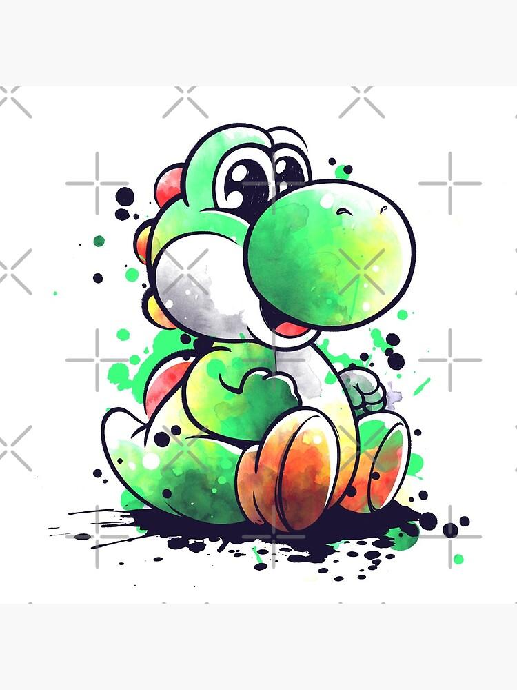 Cute dinosaur watercolor by NemiMakeit