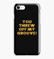 Thrown Off Groove iPhone Case/Skin