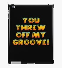 Thrown Off Groove iPad Case/Skin