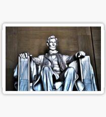 Lincoln Statue Sticker