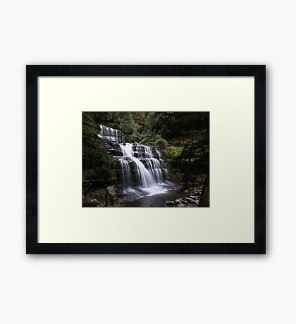 Liffey Falls Framed Print