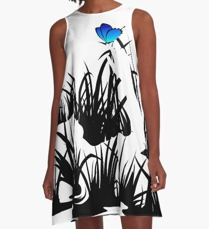 Idle A-Line Dress