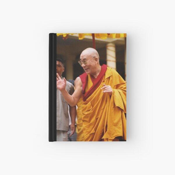 His Holiness. mcleod ganj. india Hardcover Journal
