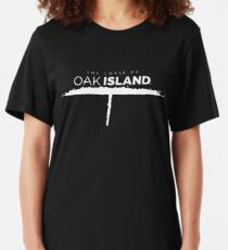 The Curse Of Oak Island Slim Fit T-Shirt