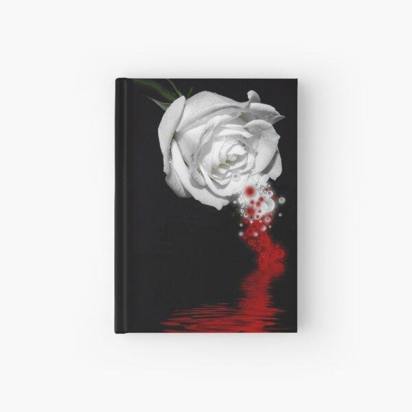 Bleeding Rose Hardcover Journal