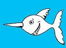 Albino Poker Fish by Juhan Rodrik