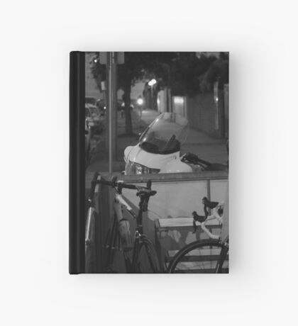 Hmmm, lessee, what would I rather ride ... Hardcover Journal