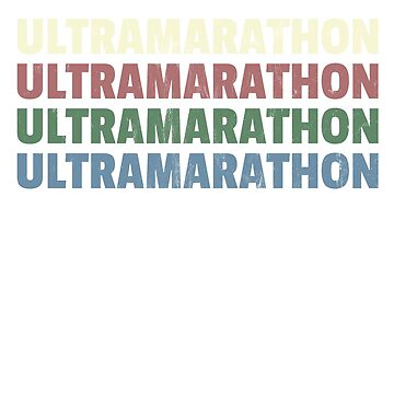 Classic 1970's Ultramarathon T-Shirt Retro Vintage by noirty