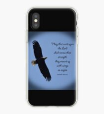 Wings as Eagles iPhone Case