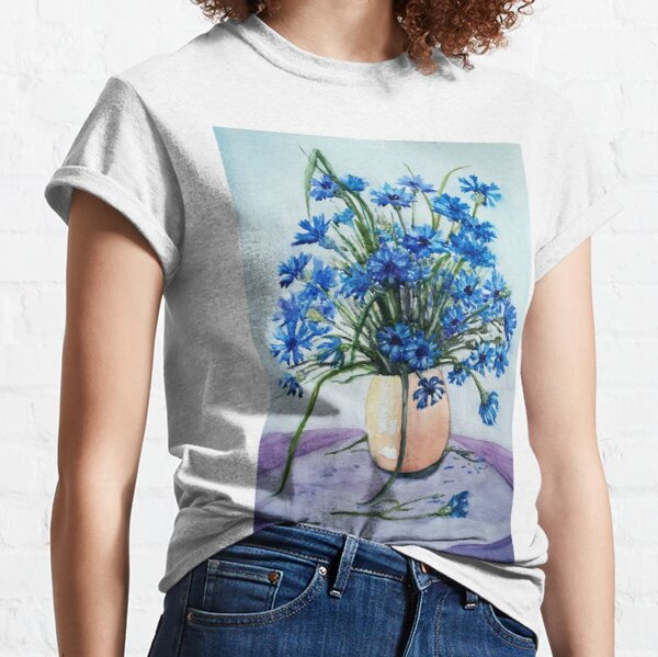 Cornflowers  Classic T-Shirt