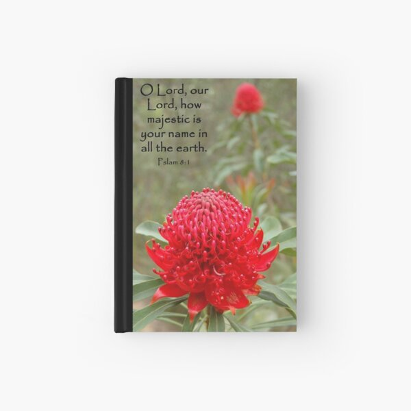 Psalm 8:1 Hardcover Journal