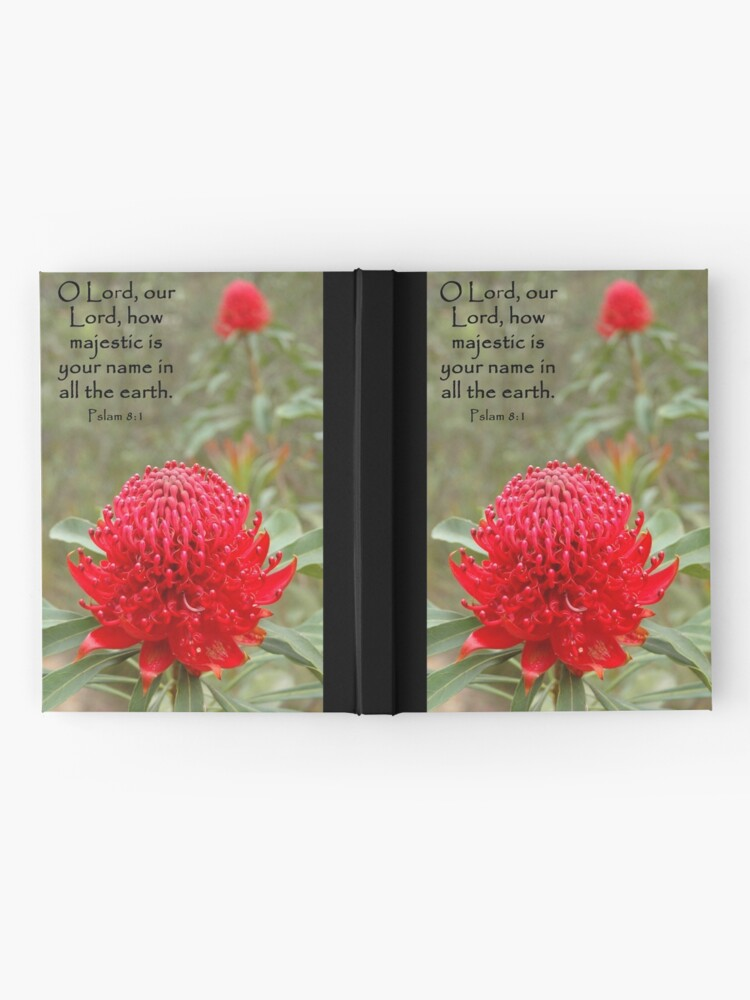Alternate view of Psalm 8:1 Hardcover Journal