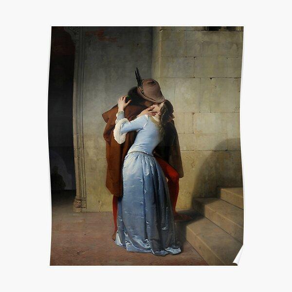 Francesco Hayez, The Kiss, 1859 Poster