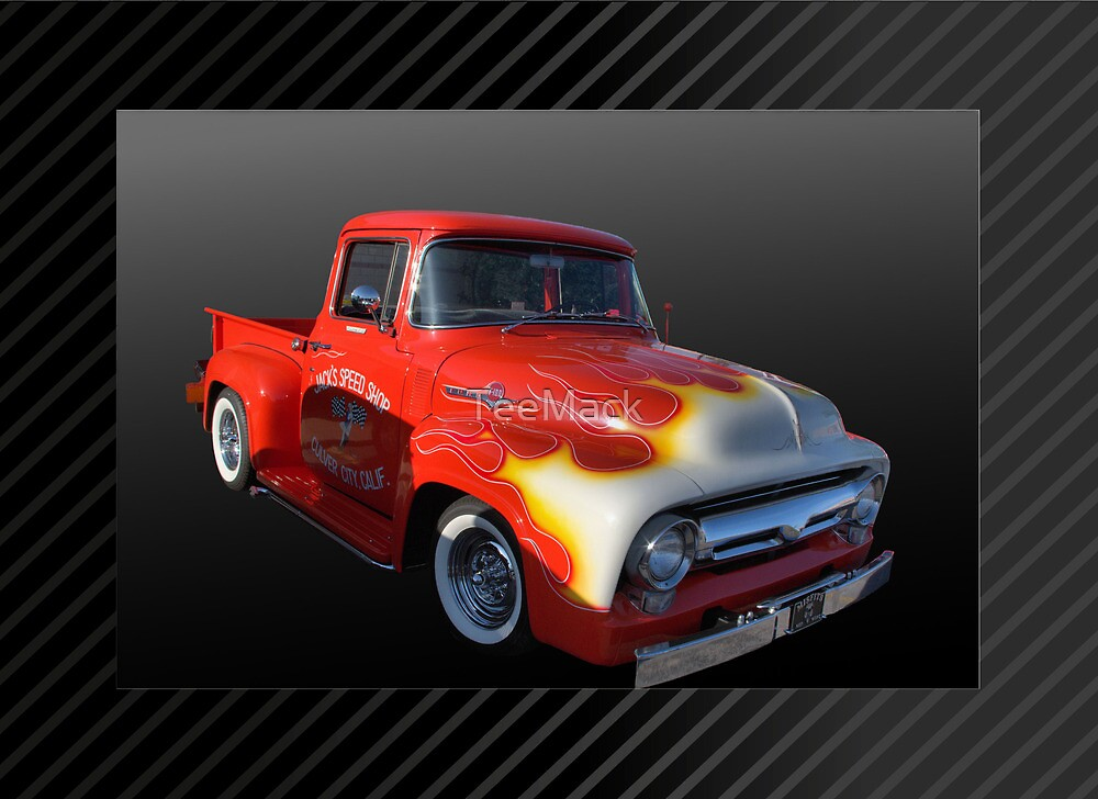 1956 Ford F-100 Pickup Truck by TeeMack
