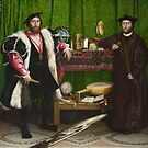 The Ambassadors, Hans Holbein, 1533 by fineearth