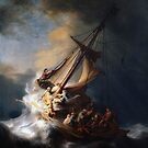 Rembrandt, The Storm on the Sea of Galilee, 1633 by fineearth