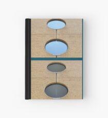 Circular - sky and bricks Hardcover Journal