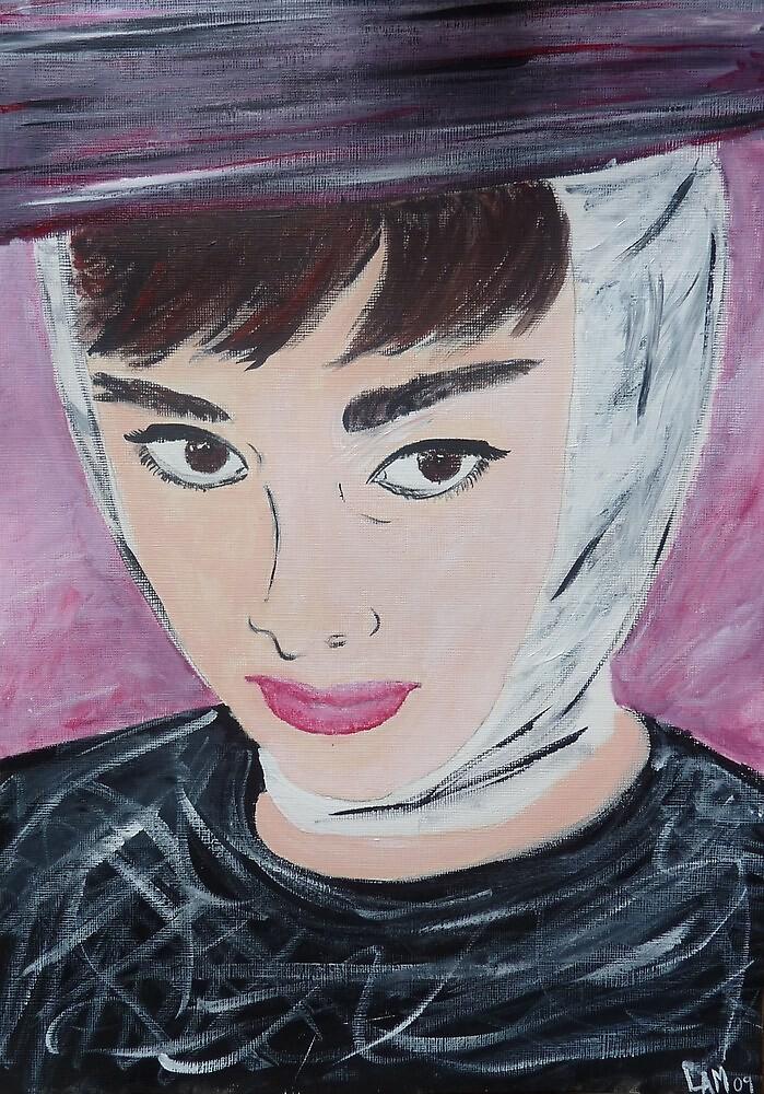 Audrey Hepburn  by Lynsey Macleod