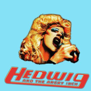 Hedwig and the Angry Inch Comic Book/Pop Art by kmferris