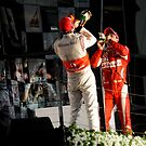 A Podium Finish - Melbourne F1 2010 by Mark Elshout