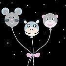 Niedliche Luftballon-Tiere von Sandra Bessière