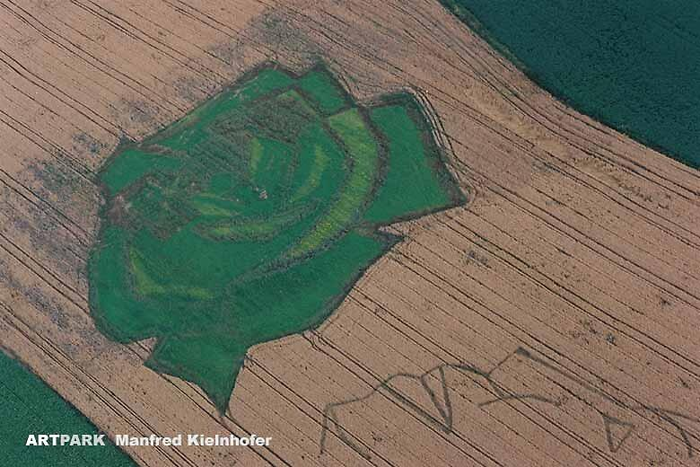 Land art by Paul Wagner and Manfred Kielnhofer by kielnhofer