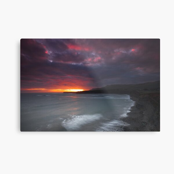 Kimmeridge Bay 9 Metal Print