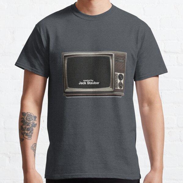 created by jack stauber retro tv Classic T-Shirt