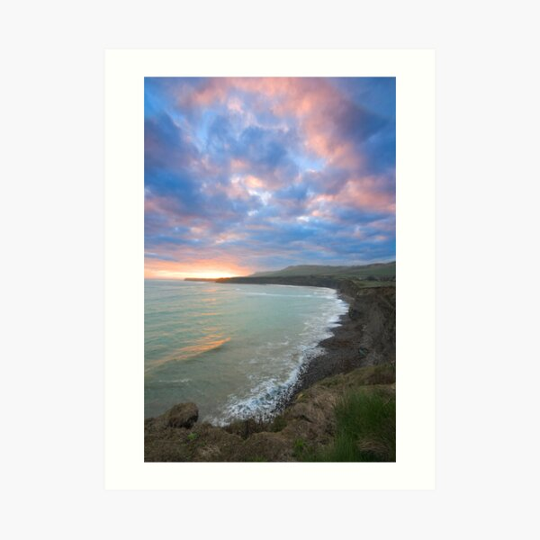 Kimmeridge Bay 11 Art Print