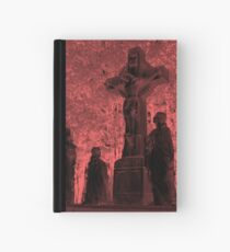 rood red Hardcover Journal