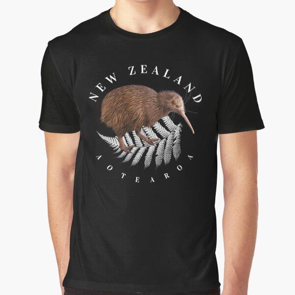 New Zealand Aotearoa Graphic T-Shirt
