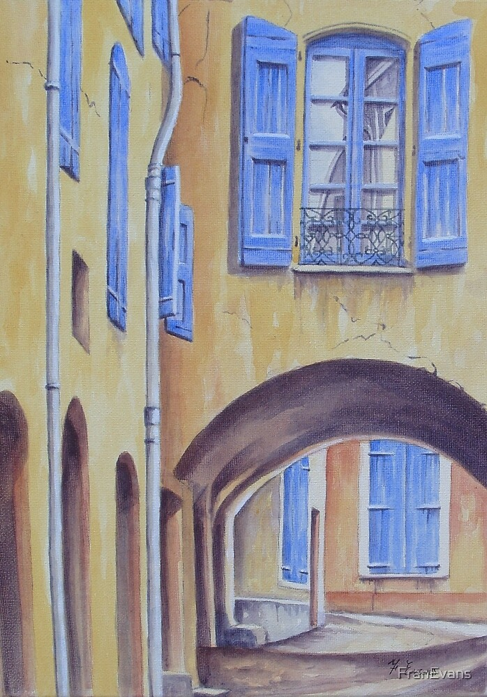 Arch in Provence by FranEvans