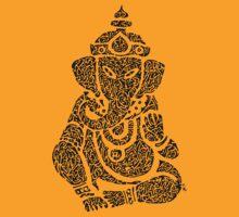 Ink Rain Ganesha
