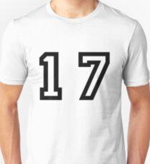 Nummer siebzehn Unisex T-Shirt