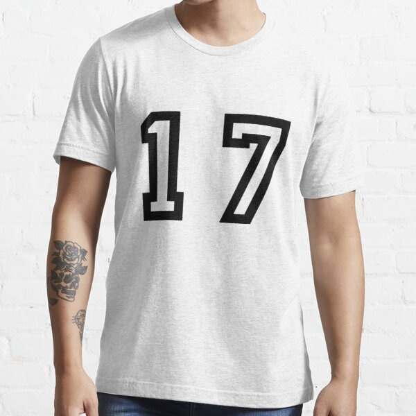 Number Seventeen Essential T-Shirt