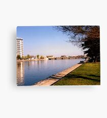 Boulogne on a warm April morning Canvas Print