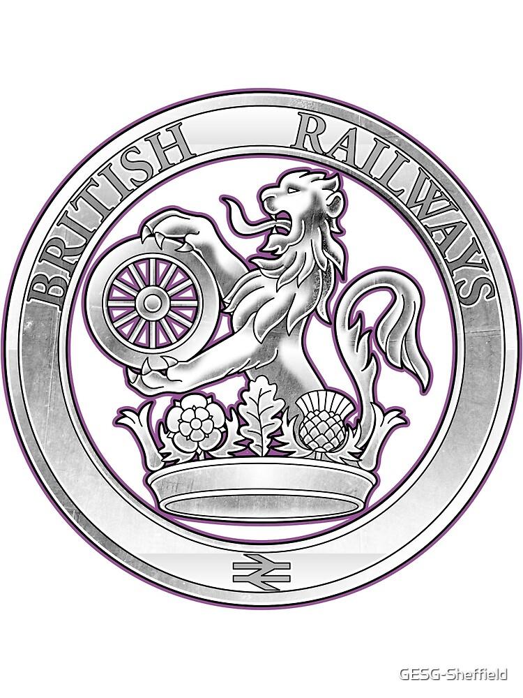 British Rail Crest by Guaranteed Eternal Sanctuary Girl