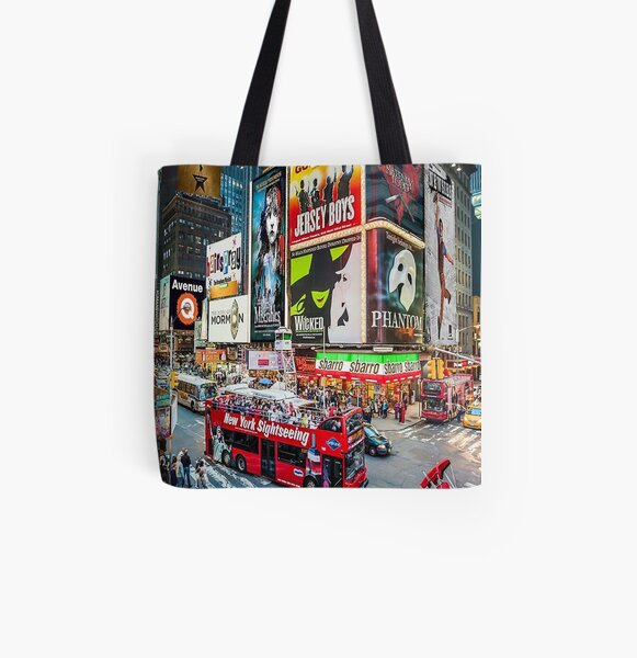 musicals collage All Over Print Tote Bag