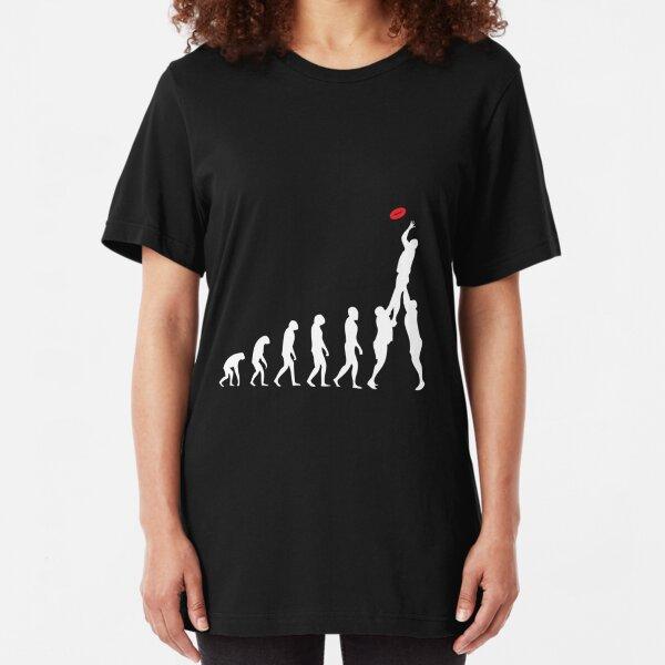 Rugby Evolution Of Man Slim Fit T-Shirt