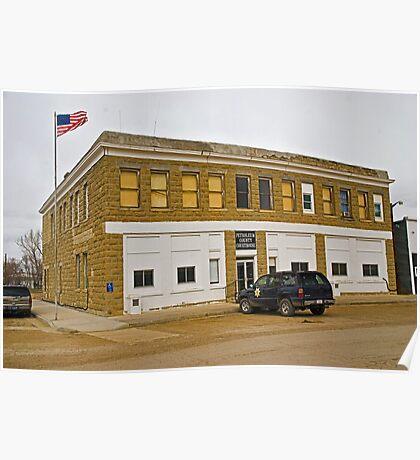 Petroleum County (Montana) Court House Poster