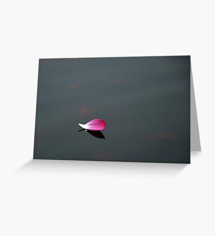 Un petalo... Greeting Card