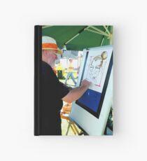 Artist at work Hardcover Journal