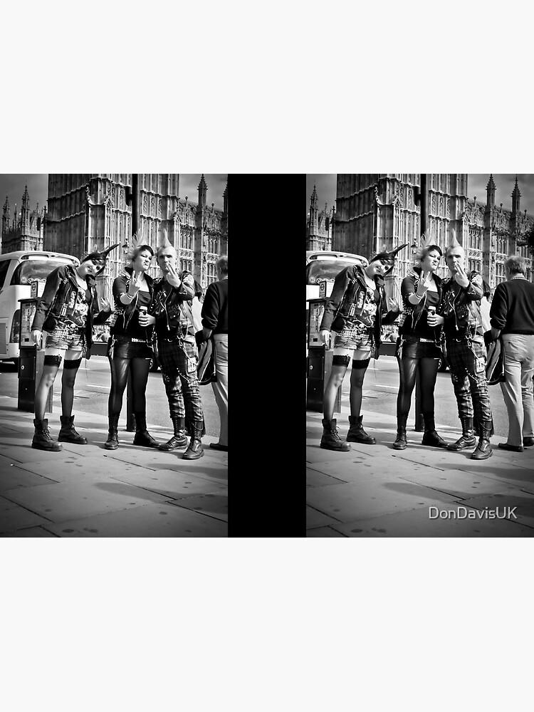 Punks in London: Punk Rockers by DonDavisUK