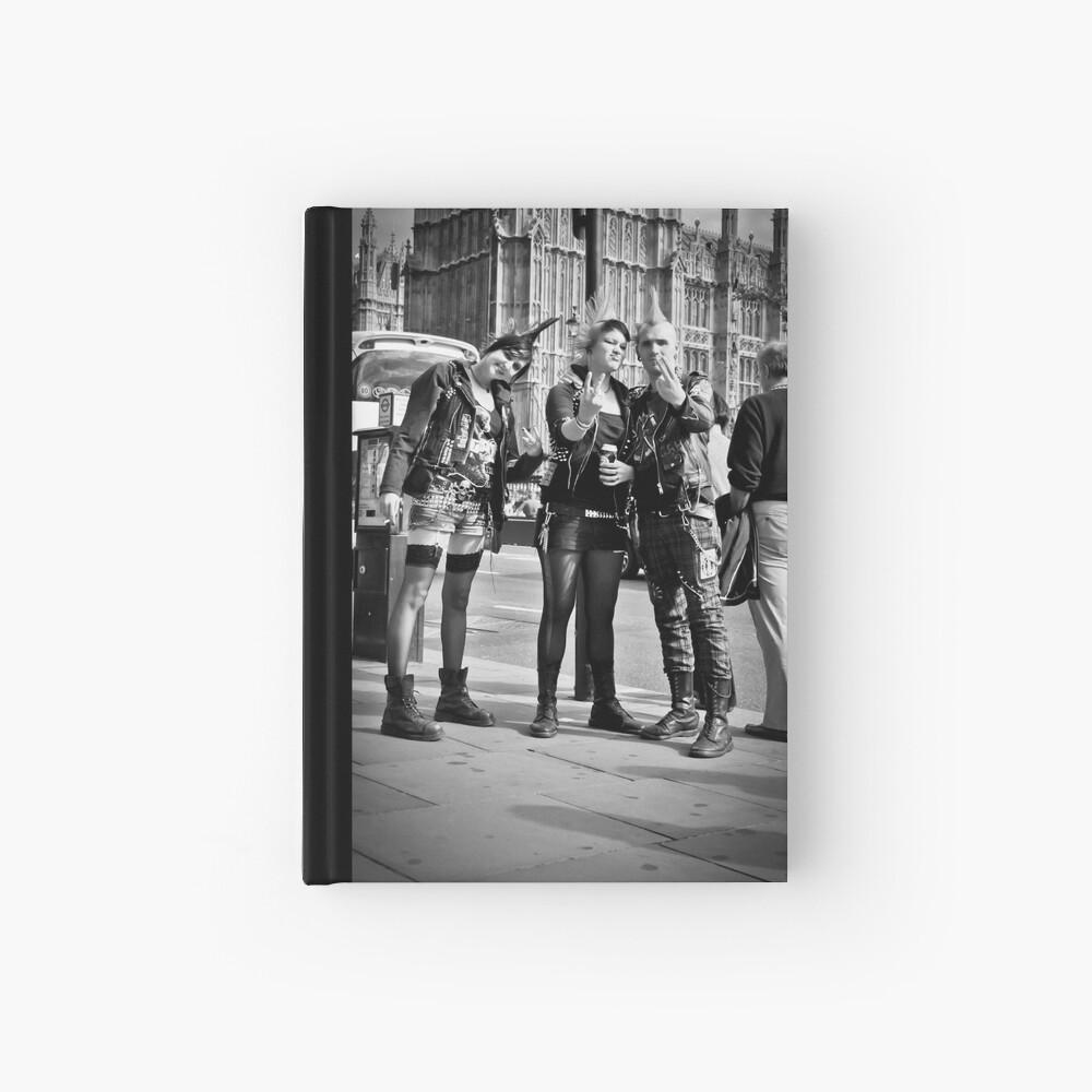 Punks in London: Punk Rockers Hardcover Journal